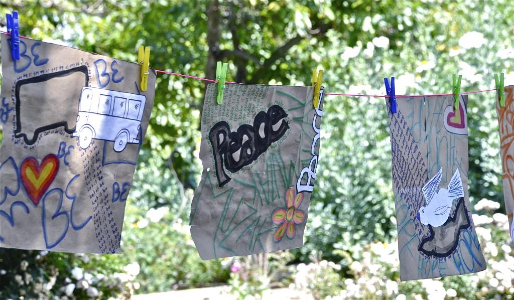 Peace in the Fullerton Arboretum